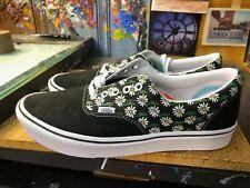 Vans Comfycush Era Scribble Flower Daisy Black Size US 11.5 Men's  New Rare