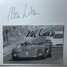 Robin Widdows  - Formel 1 -  2 original Autogramme   - Größe 15 x 10 cm