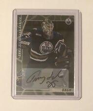 Tommy Salo, 2000-01 BAP Signature Series Autographs #67 - Oilers