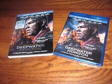 Deepwater Horizon: Mark Wahlberg) (Blu-ray, DVD+Digital HD - 2017) NEW+Fast Ship