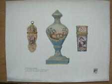 VINTAGE 1916 Print-RARE Battersea SMALTO-Stoner & Evans