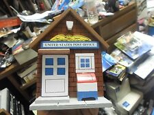 United States Post Office Music Box Wooden Building Msr Imports Inc.