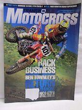Transworld Motocross Magazine September 2010 with Poster Miss Supercross & Metty