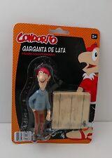 Condorito Garganta de Lata Collectible Action Figure Comic Toy Original Package