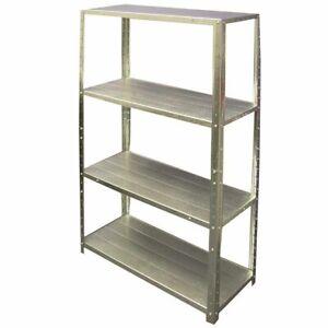 SCA 4 Shelf Unit Galvanised 50kg