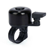 Black Metal Plastic Ring Handlebar Bell Sound for Bike Bicycle Cycling Alarm W87