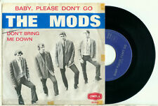"the MODS Baby, Please Don't Go (RARE 1965 DUTCH BEAT PS VINYL SINGLE 7"")"