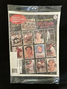 1997 Sports Collectors Digest magazine / SIP / SCD / 1957 Topps baseball