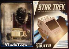 Eaglemoss Star Trek Shuttle Type-15 Shuttlecraft Aldrin NCC-1701-D #8 w/Magazine