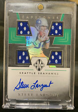 2019 Panini Majestic Steve Largent Quad Patch Auto On Card #31/35 Seahawks