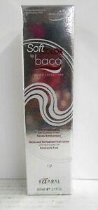 Kaaral SOFT BACO Demi-Permanent Ammonia Free Hair Color ~ 2.1 fl oz (Silver Box)