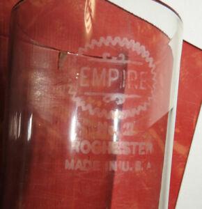 10 Inch Empire No. 2 Rochester Chimney for Oil or Kerosene Lamp