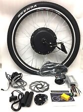 "26"" wheel 48v 1000W front wheel electric bike conversion kit with KT 880LED"