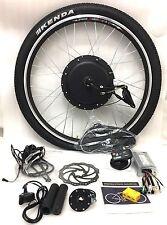 """26"""" Roues 48 V 1000 W roue avant vélo électrique Kit de conversion avec KT 880LED"""