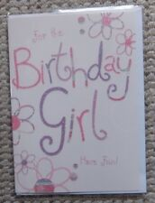 For the Birthday Girl Have Fun! Greetings Card