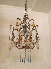 lampadario antico cristallo Murano