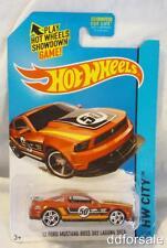 1972 Ford Mustang Boss 302 Laguna Seca 1/64 Die-cast Model From Hot Wheels