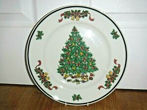 Johnson Brothers Victorian Christmas 26cm Dinner Plate ~ 1st ~ Excellent Unused