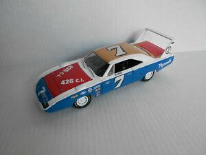 RAMO STOTT #7 CUSTOM NASCAR 1970 PLYMOUTH SUPERBIRD  DIECAST 1/24