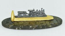 Mini Railroad Train Spike On Pyrite Collectible