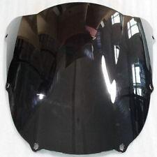Smoked Black Motorcycle Windscreen Windshield for Kawasaki Ninja Zx6r 1998-1999