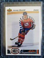 1991-92 Upper Deck 43th NHL ALL-STAR GAME Jeremy Roenick Chicago Blackhawks #629