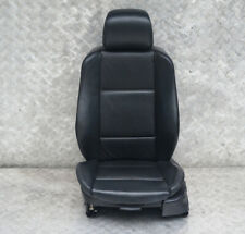 BMW X5 Series E53 Heated Sport Front Left N/S Black Leather Seat Passenger Side
