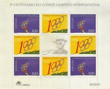 1994 - MINIATURE SHEET No. 12 / Block 145 - 1º CENTENÁRIO DO COMITÉ OLIMPICO