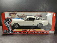 Shelby Collectibles 1965 Shelby GT-350 Cobra Mustang 1:18 Diecast Model Car