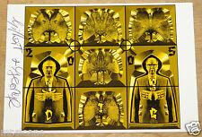 Gilbert y George Dig'05 firmado exposición Arte Postal distribuidor registrado UACC