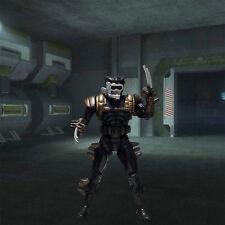 X-MEN 1993 (series 4) WOLVERINE 5th edition action figure (Black suit)