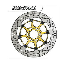 DISCO FRENO ANTERIORE DX-SX NG 1060 DUCATI ST 900 SuperSport IE (V100AA) 00/02
