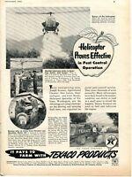 1952 Print Ad of Texaco Farm Products Havoline Tractor Motor Oil Marfak
