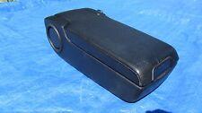 1986 - 1995 MERCEDES E-CLASS W124 300 320 400 500 DRIVER ARMREST BLACK LEATHER
