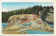 Postcard - Orange Spring - Yellowstone. Unposted. J E Haynes