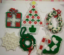 7 Miscellaneous Crafted Christmas Ornaments