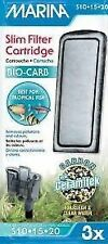Hagen Marina bioCarb Slim Filter Cartridge 3pk Tropical Fish