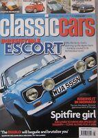 Classic Cars 08/2006 featuring Ford Escort, TVR, Lamborghini, Jaguar E-type