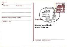 Ganzsachen Postkarte Schiff Sonderstempel RENDSBURG Stapellauf Fregatte HERTEN