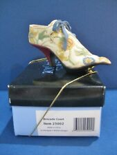 Just the Right Shoe Brocade Court New in Box