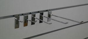 Haken für Lamellenwand, Paneelwand, Warenträger, 5 cm bis 35 cm, Ø 6