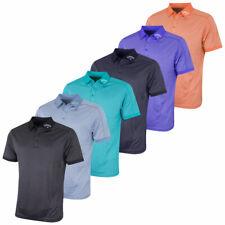Callaway Golf Mens Denim Jacquard Dri-Fit Performance Polo Shirt 37% OFF RRP