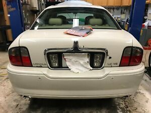 2005 Lincoln LS Rear Bumper Cover