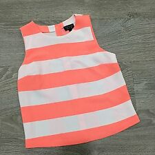 Topshop Waist Length Blouses Striped Tops & Shirts for Women