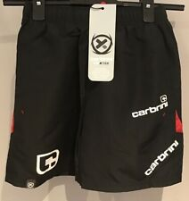 Carbrini : Boys Sport Shorts ( 8-9 Yrs ) Black /Red