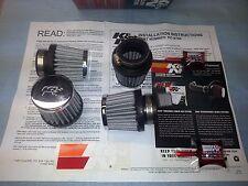 K&N RC-0794 CHROME AIR FILTER CLEANER CB400F CB350F CB350G CB350K LIFETIME