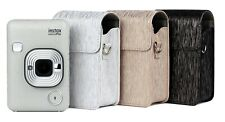 Leather Case for Fujifilm Instax Mini Liplay Camera with Adjustable Strap