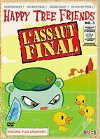 DVD DESSIN ANIME SAIGNANT POUR ADULTE : HAPPY TREE FRIENDS N°3 : L'ASSAUT FINAL