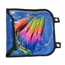 Marlin Sailfish Daisy Chain Teaser BIG GAME Trolling Fishing Lures Skirts Tackle