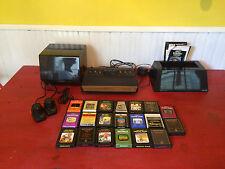 Vintage Atari 2600 Video Game System Lot
